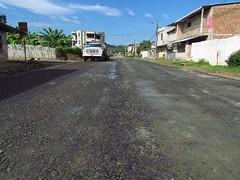 Calle Primero de Mayo está siendo rehabilitada (GadChoneEC) Tags: calle chone primerdemayo rehabilitada barrio elparaiso ciudadela vargaspazzos material mejoramiento