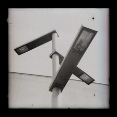Hepworth Lamps (pho-Tony) Tags: agfacopex agfaisorapidc rapid 24x24 24mmx24mm agfarapid compact square squareformat isitar f82 182 agfaisitar vintage veteran agfa copex agfacopexrapid microfilm copy contrast iso50 rodinal