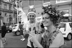 (If You Smile At Me I Will Understand) (Robbie McIntosh) Tags: leicam9p leica m9p rangefinder streetphotography 35mm leicam autaut candid strangers leicaelmarit28mmf28iii elmarit28mmf28iii elmarit 28mm color pride naplespride ondapride mediterraneanprideofnaples lgbt blackandwhite bw