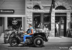 July 20 2012 - 1954 Harley Davidson police bike (La_Z_Photog) Tags: lazy photog elliott photography worland wyoming beartooth motorcycle rally mountains highway pass harley davidson