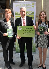 Meeting Lyme disease campaigners