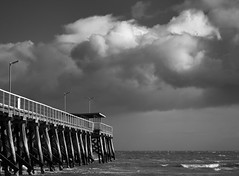 Winter Storm Clouds (BTAdelaide) Tags: jetty landscape landscapephotography ocean seascape clouds winter adelaide southaustralia australia fujifilmxt2 fujifilm