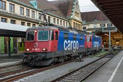 421 392 en 421 379 SBB Cargo. Lindau Hbf (Hans Wiskerke) Tags: lindaubodensee bayern duitsland de