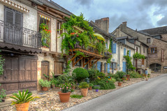Najac Vilage 3 (PhilHydePhotos) Tags: architecture buildings france lesplusbeauxvillagesdefrance najac southoffrance themostbeautifulvillagesoffrance bâtiments