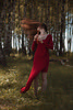 Ritenudo {9} (dewframe) Tags: girl musical red dress nature emotional