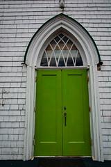 green_door-2_MaxHDR_Dehaze_Hue (old_hippy1948) Tags: door green church