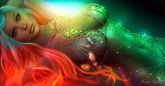 Rara, como encendida (corsario.lionheart) Tags: gem rare onfire kinky colors beauty stunning art artistic skin mystic