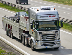 Spedtion Bender (D) (Brayoo) Tags: scania streamline germany transport truck trans trucks tir lkw lorry camoin camioin