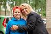 Mother and son (Dannis van der Heiden) Tags: mother son smile cap people car tree wall nikkor50mmf18g nikond750 d750