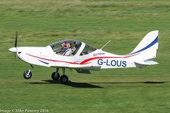 G-LOUS - 2016 build Evektor EV-97 Eurostar SL, arriving on Runway 26L at Barton (egcc) Tags: 20164234 barton bettley cityairport egcb ev97 eurostar eurostarsl evektor glous jealous lsa lightsportaviation lightroom manchester microlight