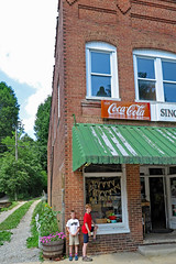 Visiting Wonderful little Saluda NC (FAIRFIELDFAMILY) Tags: pacolet river saluda nc north carolina south little rustic mountain stairs steps coca cola sign building historic architecture downtown water hiking walking child young old store coke porcelain enamel button michelle jason grant carson mother son taylor fairfield county winnsboro garden gun southern living outside explore exploring pretty nature travel