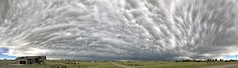 All Sky Mammatus Clouds (northern_nights) Tags: mammtusclouds clouds cloudscape cheyenne wyoming pano panorama skyscape