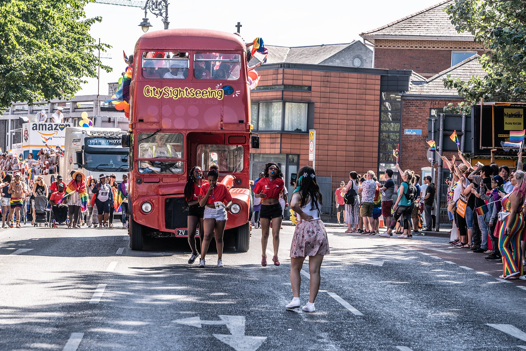 ABOUT SIXTY THOUSAND TOOK PART IN THE DUBLIN LGBTI+ PARADE TODAY[ SATURDAY 30 JUNE 2018] X-100146