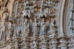 Olite, Iglesia de Santa María la Real (thierry llansades) Tags: olite navarre navarra pamplona pamplone pampelune aragon tafalla espagne espagna espana eglise esglesia cloitre cathedrale santamaria palais royal palaisroyal