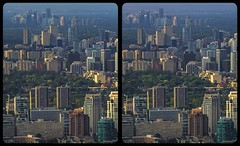 Toronto and North York 3-D / CrossView / Hyperstereo (Stereotron) Tags: toronto to tdot hogtown thequeencity thebigsmoke torontonian hyperstereo architecture contemporary modern skyscraper cross eye view xview crosseye pair free sidebyside sbs kreuzblick bildpaar 3d photo image stereo spatial stereophoto stereophotography stereoscopic stereoscopy stereotron threedimensional stereoview stereophotomaker photography picture raumbild twin canon eos 550d remote control synchron kitlens 1855mm 100v10f tonemapping hdr hdri raw cntower