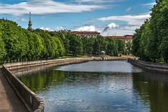 Janka Kupala's Park, Minsk (Hanna Tor) Tags: city travel trip river lake minsk belarus park square street hannator