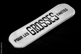 For Big Mistakes - Macro Mondays Eraser