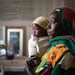 Hawa Mustafa, 29, holds her 6-month old daughter Muna Ibrahim