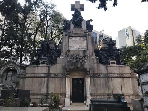 MAUSOLÉU OF THE FAMILY MATARAZZO, Consolation Cemetery, São Paulo, Brazil.
