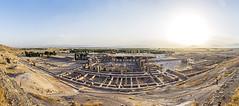 Persepolis (Alex Tudorica) Tags: persia iran panorama canon sunset high vantage point persepolis capital ancient ruins