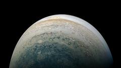 Jupiter - PJ11-28 (Kevin M. Gill) Tags: jupiter perijove11 juno junocam planetary science astronomy space