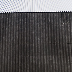 Grey Wall (YIP2) Tags: city urban minimal minimalism line lines stripes simple less linea detail geometry pattern design white details abstract construction wall urbandetail texture surface outside building diagonal window windows facade architecture repetition