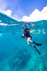Marcia Snorkeling Heron Island-12 (Quick Shot Photos) Tags: australia canon canoncollective greatbarrierreef heronisland queensland underwater bogie au