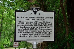2018 05 06 001 Prince William's Parish Church (Mark Baker.) Tags: 2018 america baker carolina mark may north prince sheldon south us usa williams church day outdoor photo photograph picsmark spring states united