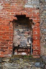 Rock cottage ruins (cmw_1965) Tags: rock cottage ruins st saint marys well bay lavernock sully ruin south wales vale glamorgan coast jurassic welsh masonry shore swanbridge graffiti vandalism