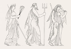 Juno, Neptune & Ceres from An illustration of the Egyptian, Grecian and Roman costumes by Thomas Baxter (1782-1821).Digitally enhanced by rawpixel. (Free Public Domain Illustrations by rawpixel) Tags: illustration publicdomain egyptian otherkeywords afterlife anillustrationoftheegyptian ancient ancientgreek antique baxter belief cc0 ceres drawing egypt empire godoffreshwater goddess goddessofagriculture gods grecianandromancostumes greek greekgodposeidon historical history juno man myth mythology neptune neptuneceres old oldkingdom romangods romans sketch thomasbaxter tumbler underworld vintage wisdom worship