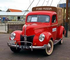 1940 Ford Pick-Up (Vriendelijkheid kost geen geld) Tags: nationale oldtimerdag lelystad 2018