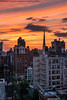 Tonight's Sunset (20180621-DSC08485) (Michael.Lee.Pics.NYC) Tags: newyork sunset gracechurch greenwichvillage sky clouds color rooftops cityscape sony a7rm2 fe24105mmf4g