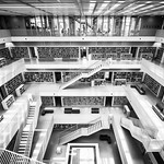 Stadtbibliothek - Stuttgart, Germany - Architecture photography thumbnail