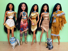 June 23rd - Pocahontas 23rd Anniversary (honeysuckle jasmine) Tags: collection dolls doll pocahontas princess disney