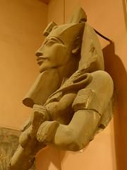 Akhenaten (Aidan McRae Thomson) Tags: cairo egyptian museum ancient egypt sculpture statue akhenaten amarnan