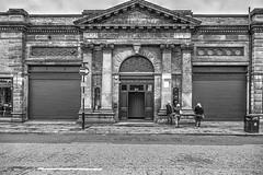 Smithfield Market Hall, Manchester (dlsmith) Tags: smithfield market manchester mcr bw byn monochrome monochromatic hdr photomatix northernquarter nq candid street streetphotography