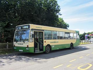 Rambler Coaches of Hastings Fleet No.33 UDY910