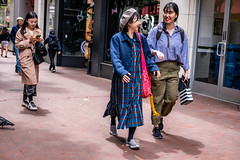 San Francisco 2018 (burnt dirt) Tags: sanfrancisco california vacation town city street road sidewalk crossing streetcar cablecar tree building store restaurant people person girl woman man couple group lovers friends family holdinghands candid documentary streetphotography turnaround portrait fujifilm xt1 color laugh smile young old asian latina white european europe korean chinese thai dress skirt denim shorts boots heels leather tights leggings yogapants shorthair longhair cellphone glasses sunglasses blonde brunette redhead tattoo pretty beautiful selfie fashion japanese stripes pink pattern hat