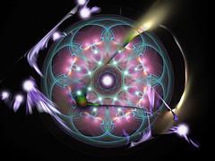 Mandala 209 (karl_eschenbach) Tags: mandala buddha spirituality psychedilic digitalart apophysis photoshop summersolstice