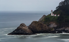 Heceta Head Lighthouse (dcjohnson50) Tags: hecetaheadlighthouse florence oregoncoast longexposure leefilters littlestopper bigstopper canon canon5dmarkiii markiii 5d canon2470 oceancloudsskiesbeautiful pacificocean lighthouse naturalbeauty seascape