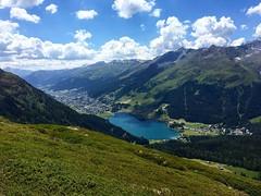 Vista sul lago di Davos Grigioni - Svizzera (CANETTA Brunello) Tags: svizzera montagne pano vista davos