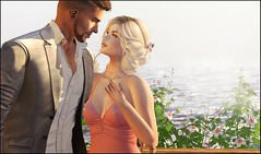 Be with Me Now (Broderick Logan) Tags: secondlife second 2nd life 2ndlife avi avatar virtual vr inworld 3d bento mesh music brodericklogan broderick logan enaroane ena roane love couple lyrics romance ardent poses beach vacation time together most important