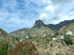 Látkép a Cano-sziklára (ossian71) Tags: spanyolország spain kanáriszigetek canaryislands lagomera gomera vallehermoso természet nature tájkép landscape hegy mountain szikla rock