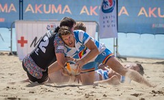 Charge (Chris Willis 10) Tags: beachrugby bournemouth sport beach sand people competition outdoors competitivesport playing men fun summer action sea charge