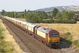 67021 Class 67 Belmond Pullman