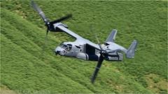 "CV-22 ""Osprey"" (DaveChapman ""If it flies,I shoot it"") Tags: cv22 osprey mildenhall military militaryaircraft machloop mountains lowlevel lfa7 loop lowfly raf roundabout flying valleys valley nikon nwmta nikon600mmf4vr nikond810 propellor props"