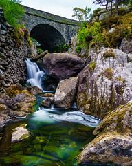 Afon Ogwen (Andy Poole Images) Tags: water river waterfalls mountains snowdonia ogwen