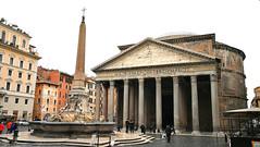 Pantheon 萬神殿 (MelindaChan ^..^) Tags: rome italy 意大利 羅馬 heritage history life chanmelmel mel melinda melindachan pantheon 萬神殿