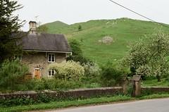 Ilam Village, England (teacup_dreams) Tags: film canon ae1 ilam village staffordshire england countryside