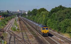 66704 At Beeston. 03/07/2018. (briandean2) Tags: 66704 beeston nottingham nottinghamshire railways ukrailways ukfreighttrains